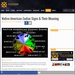 Native American Zodiac Signs & Their Meaning