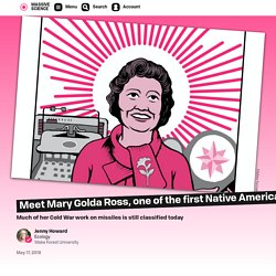 Meet Mary Golda Ross, one of the first Native Americans in engineering