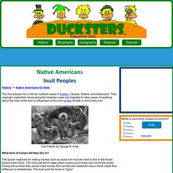 Native Americans for Kids: Inuit Peoples
