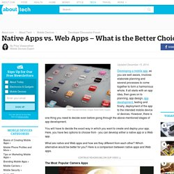 Native Apps vs. Web Apps – What Is the Better Choice?
