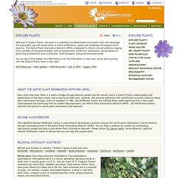 Native Plant Information Network
