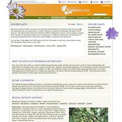 Native Plant Information Network