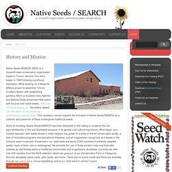 Graines autochtones / RECHERCHE