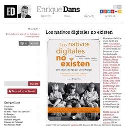 Los nativos digitales no existen » Enrique Dans