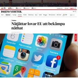 Nätjättar lovar EU att bekämpa näthat
