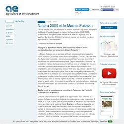 Natura 2000 et le Marais Poitevin