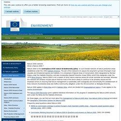 Natura 2000 network - Environment