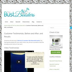Naturaful Customer Testimonials, Before and After, and Results