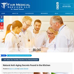 Natural Anti-Aging Secrets Found in the Kitchen