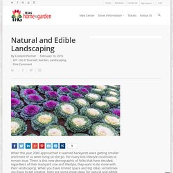Natural and Edible Landscaping