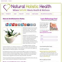 Natural AntiHistamine Herbs