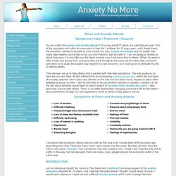 Natural Anxiety Cure | Panic Treatment | Self Help With Anxiety Attacks