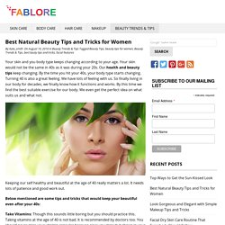 Best 3 Natural Beauty Tips and Tricks for beautiful Women