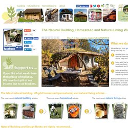 Natural Homes, a window to the world of natural living