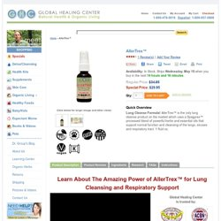 Natural Lung Cleanse Formula - AllerTrex™