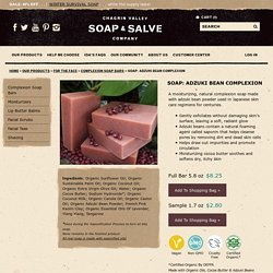 Adzuki Bean Natural Complexion Soap