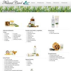 Cosmética Natural » Productos