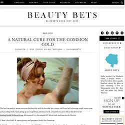 Natural Cold Remedy: Detoxifying Bath Soak