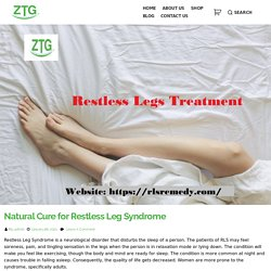 Natural Cure for Restless Leg Syndrome -