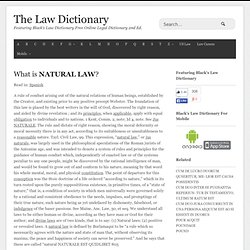 Black S Law Definition Of Natural Person
