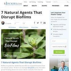7 Natural Agents That Disrupt Biofilms