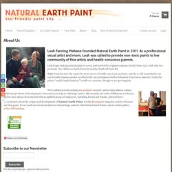 Natural Earth Paint - About Us