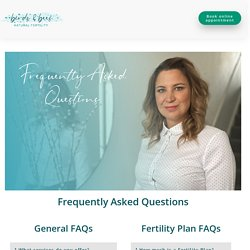 Frequently Asked Fertility Questions