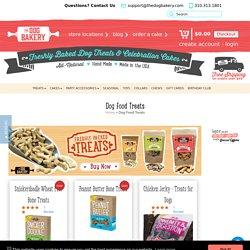 Fresh Baked All Natural & Handmade Dog Food Treats - The Dog Bakery