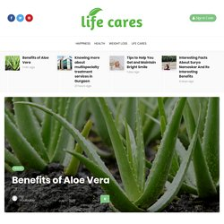 Best Natural health Benefits of Aloe Vera
