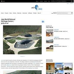 Jeju World Natural Heritage Center / poly.m.ur