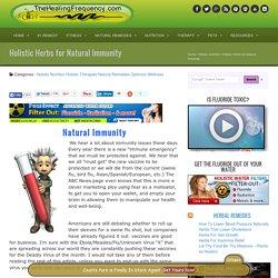 Natural Immunity Herbs