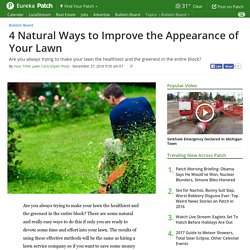 4 Natural Ways to Improve the Appearance of Your Lawn - Eureka, MO Patch