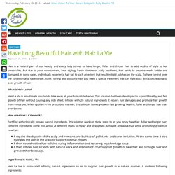 Hair La Vie Review- All Natural Ingredients, Benefits & Price