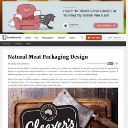 Natural Meat Packaging Design