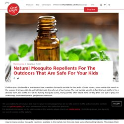 Natural and Best Mosquito Repellents for Kids - Goodknight