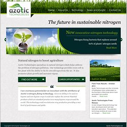 Home » Natural nitrogen to boost agriculture