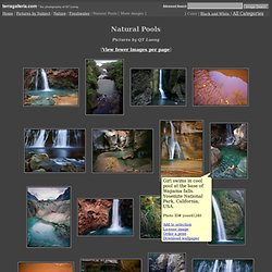 More Natural Pools Pictures - stock photos, fine art prints by QTL
