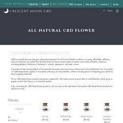 Quality CBD Hemp Flower for Sale – Crescent Moon Hemp