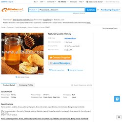 Natural Quality Honey products, buy Natural Quality Honey products from alibaba