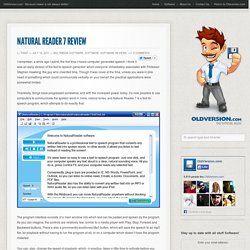 Natural Reader 7 Review