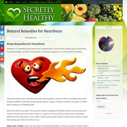 Natural Remedies for Heartburn -