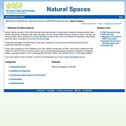 Natural Spaces - Scottish Natural Heritage