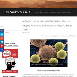 A Closer Look at Natural Killer Cells In Chronic Fatigue Syndrome and 3 Natural Ways to Boost Them — Dr Courtney Craig