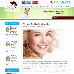 Natural toothache Remedies - LA Dental Clinic