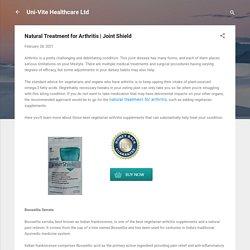 Natural Treatment for Arthritis
