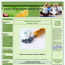 Natural Treatments for Prostate Cancer