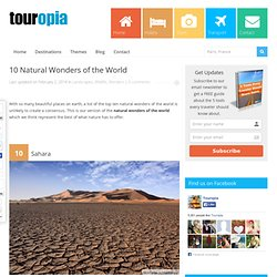 10 Natural Wonders of the World | Touropia