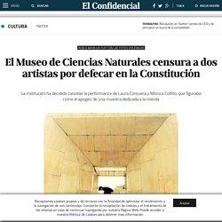 Twitter: El Museo de Ciencias Naturales censura a dos artistas por defecar en la Constitución. Noticias de Cultura