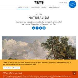 Naturalism – Art Term