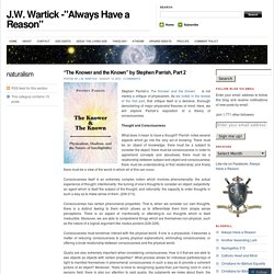 "J.W. Wartick -""Always Have a Reason"""
